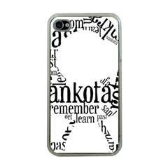 Sankofashirt Apple Iphone 4 Case (clear)