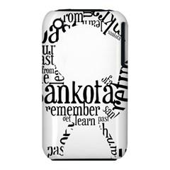 Sankofashirt Apple iPhone 3G/3GS Hardshell Case (PC+Silicone)