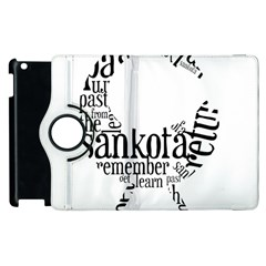 Sankofashirt Apple iPad 3/4 Flip 360 Case