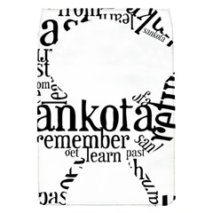 Sankofashirt Removable Flap Cover (small)