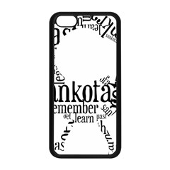 Sankofashirt Apple iPhone 5C Seamless Case (Black)