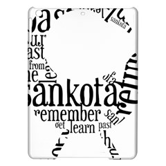 Sankofashirt Apple iPad Air Hardshell Case