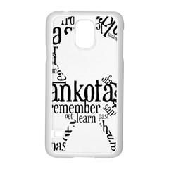 Sankofashirt Samsung Galaxy S5 Case (White)