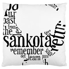 Sankofashirt Standard Flano Cushion Case (One Side)