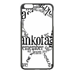 Sankofashirt Apple Iphone 6 Plus Black Enamel Case