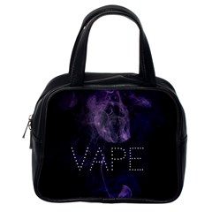 Vape Purple Smoke  Classic Handbag (one Side)