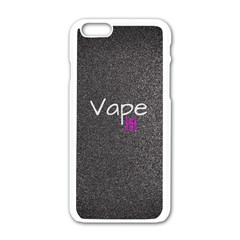 Vape Life  Apple Iphone 6 White Enamel Case