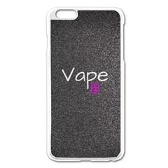 Vape Life  Apple Iphone 6 Plus Enamel White Case