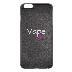 Vape Life  Apple iPhone 6 Plus Black Enamel Case