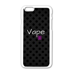 Vape Life Twirlz Apple iPhone 6 White Enamel Case
