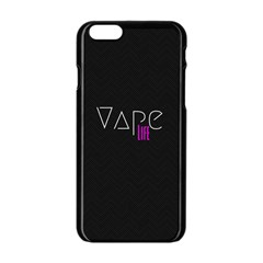 Vape Life Black Apple iPhone 6 Black Enamel Case