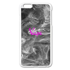 Vape  Apple Iphone 6 Plus Enamel White Case