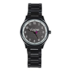 Vape Life  Sport Metal Watch (black)