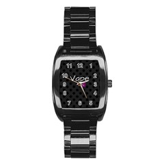 Vape Life Twirlz Stainless Steel Barrel Watch