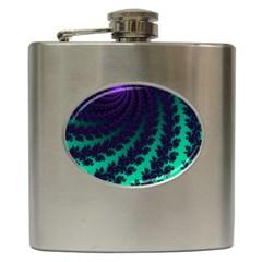 Sssssssfractal Hip Flask