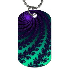 Sssssssfractal Dog Tag (two Sided)