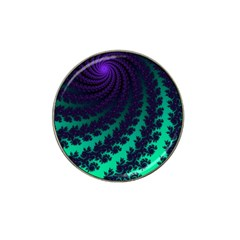 Sssssssfractal Golf Ball Marker 4 Pack (for Hat Clip)