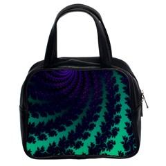 Sssssssfractal Classic Handbag (two Sides)