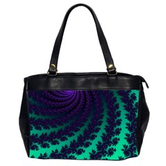 Sssssssfractal Oversize Office Handbag (two Sides)