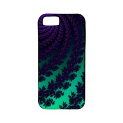 Sssssssfractal Apple Iphone 5 Classic Hardshell Case (pc+silicone)