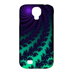 Sssssssfractal Samsung Galaxy S4 Classic Hardshell Case (pc+silicone)