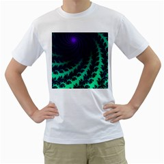 Sssssssfractal Men s T-Shirt (White)