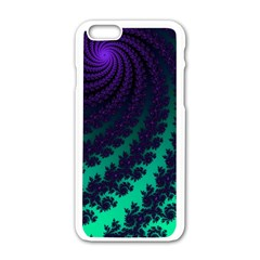 Sssssssfractal Apple Iphone 6 White Enamel Case