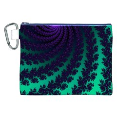 Sssssssfractal Canvas Cosmetic Bag (XXL)