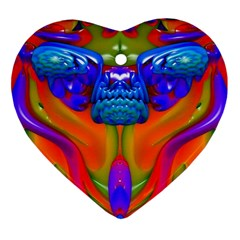 Lava Creature Heart Ornament