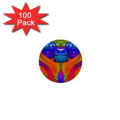Lava Creature 1  Mini Button (100 Pack)