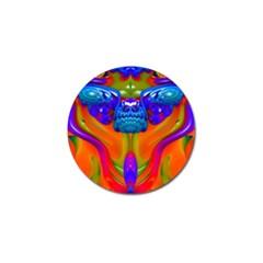Lava Creature Golf Ball Marker 4 Pack