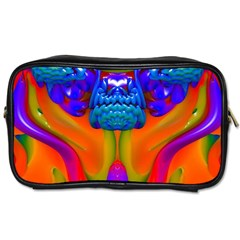 Lava Creature Travel Toiletry Bag (two Sides)