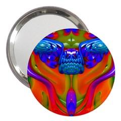 Lava Creature 3  Handbag Mirror