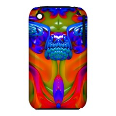 Lava Creature Apple iPhone 3G/3GS Hardshell Case (PC+Silicone)