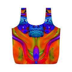 Lava Creature Reusable Bag (m)