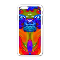 Lava Creature Apple Iphone 6 White Enamel Case