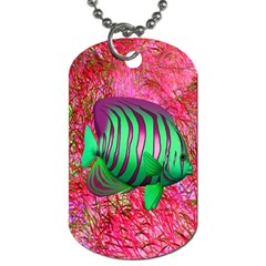 Fish Dog Tag (one Sided)