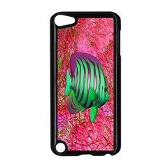 Fish Apple Ipod Touch 5 Case (black)