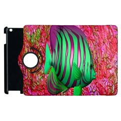 Fish Apple Ipad 3/4 Flip 360 Case