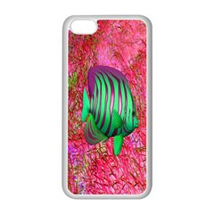 Fish Apple Iphone 5c Seamless Case (white)