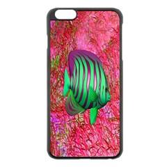 Fish Apple iPhone 6 Plus Black Enamel Case