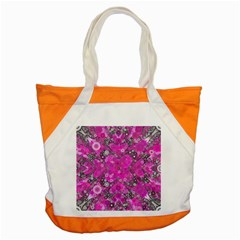 Dazzling Hot Pink Accent Tote Bag
