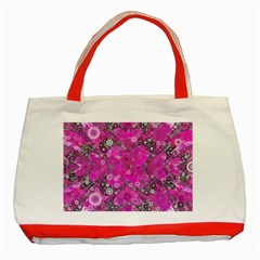 Dazzling Hot Pink Classic Tote Bag (Red)