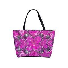 Dazzling Hot Pink Large Shoulder Bag