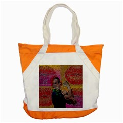 Rosie Pop Lips  Accent Tote Bag
