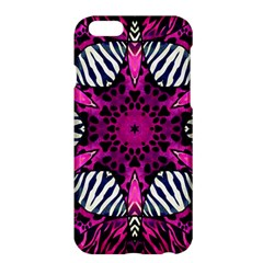 Crazy Hot Pink Zebra  Apple iPhone 6 Plus Hardshell Case