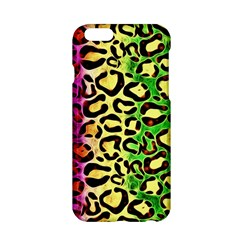 Rainbow Cheetah Abstract Apple iPhone 6 Hardshell Case