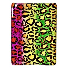 Rainbow Cheetah Abstract Apple iPad Air Hardshell Case