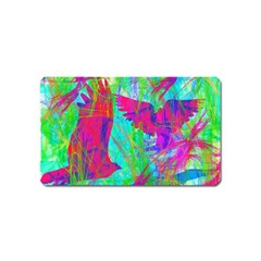 Birds In Flight Magnet (name Card)