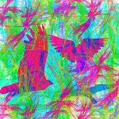 Birds In Flight Canvas 16  X 16  (unframed)